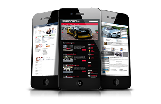 Responsive & Mobile Website Design