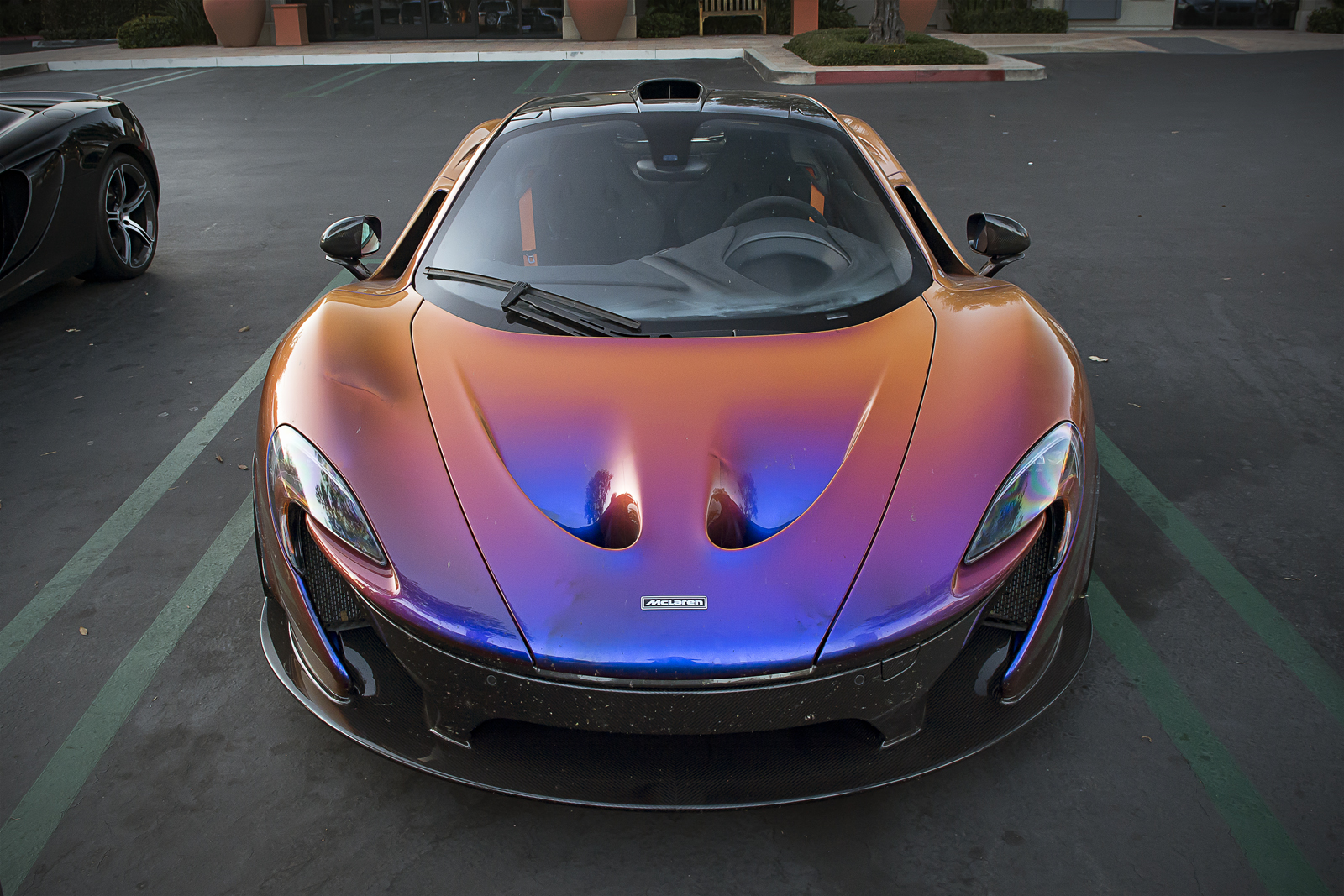 Color car los angeles - Cj Wilson Mclaren P1
